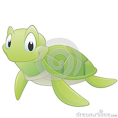 Free Cartoon Turtle Royalty Free Stock Photo - 23521225