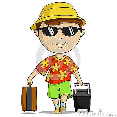 Cartoon Vacation Outfi...