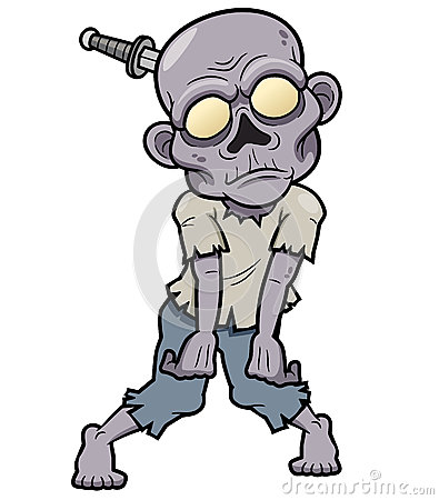 Free Cartoon Zombie Royalty Free Stock Photos - 30464118