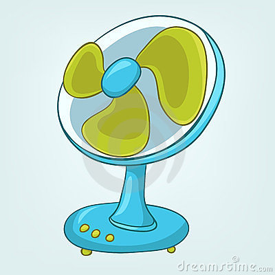 Cartoons Home Appliences Fan Royalty Free Stock Photo - Image ... Happy Child Clipart
