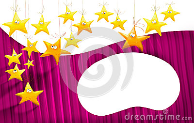 Cartoons stars background