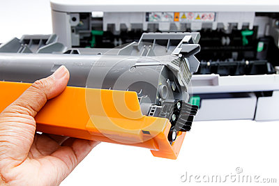 Cartridge for laser printer