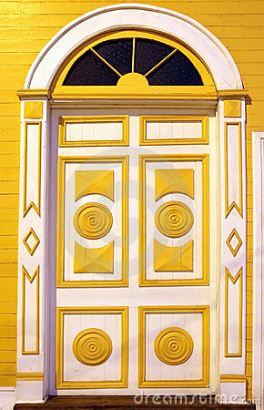 Free Carved Colorful Doors Stock Images - 5102354