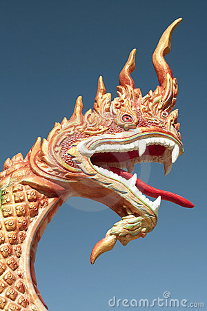 Free Carved Dragon Head Stock Photos - 13751483