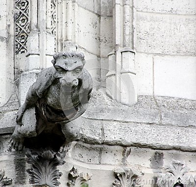 Carved Gargoyle