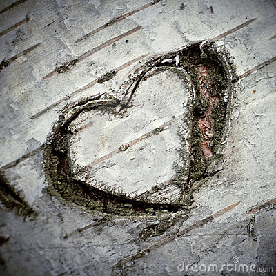 A Carved Heart of Love