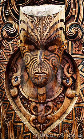 Free Carved Maori Board Stock Photos - 12020313