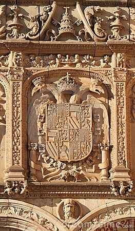 Carved ornamental facade