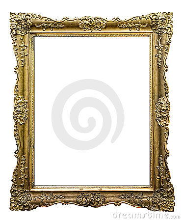 Free Carved Picture Frame Royalty Free Stock Photography - 12328017