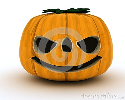 Carved pumpkin Jacko Lantern