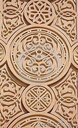 Carved Sandstone