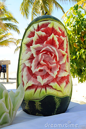Carved Watermelon