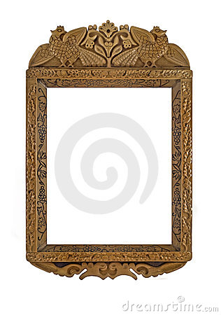 Carved Wooden Frame for picture or portrait
