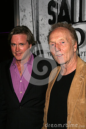 Cary Elwes,Tobin Bell,Specials Editorial Stock Photo
