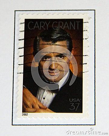 Cary Grant Redaktionelles Stockfoto