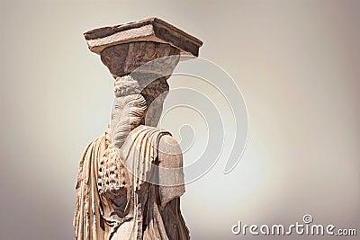 Caryatid statue