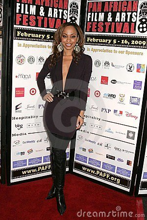 Caryn Ward at the Pan African Film Festival Premiere of  Layla . Culver Plaza Theatre, Culver City, CA. 02-13-09 Editorial Stock Photo