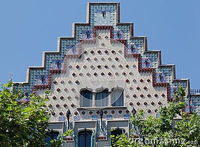 Casa Amatller in Barcelona Spain