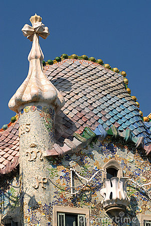 Free Casa Batllo - Barcelona Stock Photo - 5486290
