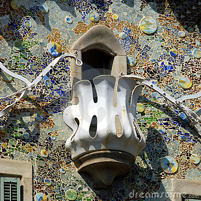 Free Casa Batllo - Barcelona Royalty Free Stock Images - 5486469