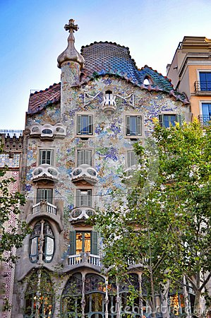 Free Casa Batllo - Barcelona Royalty Free Stock Photo - 58481545