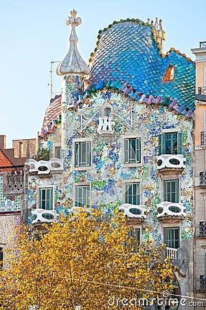 Free Casa Batllo, Barcelona, Spain. Stock Photo - 22697280