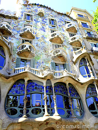 Free Casa Batllo, Barcelona, Spain Stock Photos - 37532943