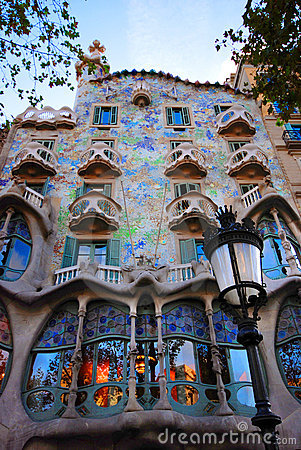 Free Casa Batllo In Barcelona Royalty Free Stock Image - 3728496