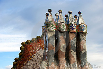 Casa Batllo - roof detail