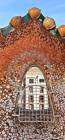 Casa batllo window