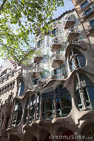 Casa Battlo Editorial Stock Image
