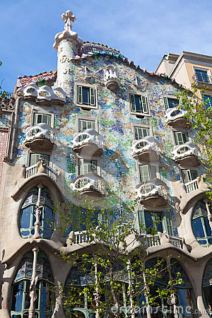 Casa Battlo Editorial Image