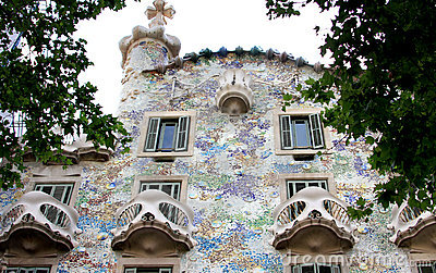 Casa Battlo, catalan modernism, Barcelona