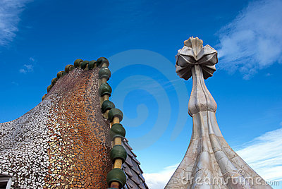 Casa Battlo - roof detail
