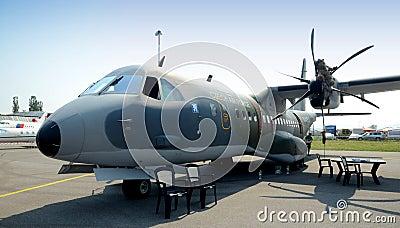 Casa C 295M - twin- turboprop - Editorial Stock Photo