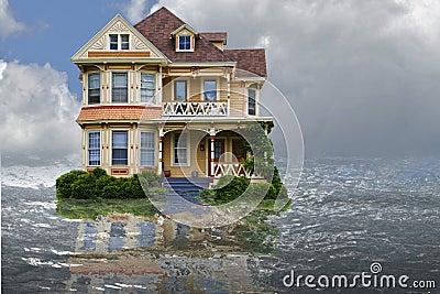 Casa da inundação