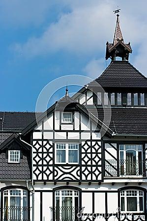 Casa da madeira em Poland