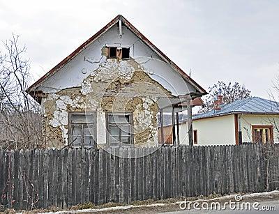 Casa da ruína da Transilvânia