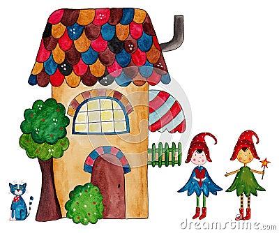 A casa das fadas