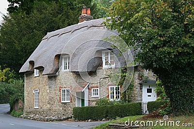 Casa de campo do país