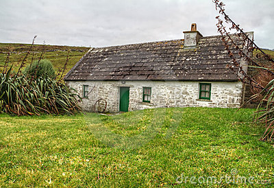 Casa de campo irlandesa