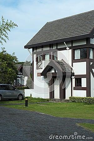 Casa de campo para o lazer