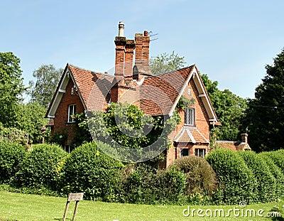 Casa de campo rural inglesa fotos de archivo libres de regal as imagen 2536798 - Imagenes de casas inglesas ...
