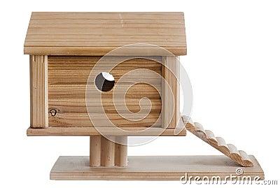 Casa de madeira, casa do brinquedo