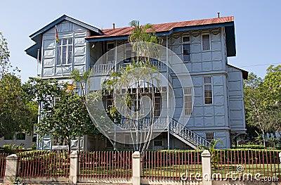 Casa del hierro en Maputo, Mozambique