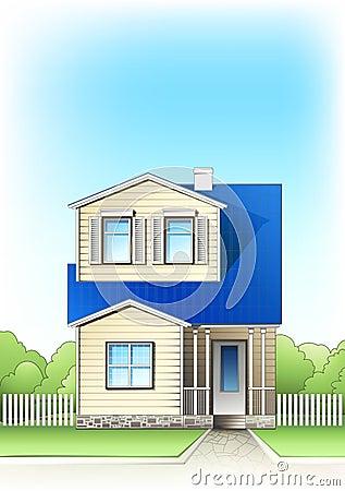 Casa del suburbio