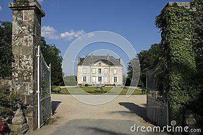 Casa di campagna francese immagine stock immagine 3092681 for Architettura di campagna francese
