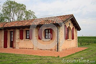 Casa di campagna veneziana immagini stock immagine 24681994 - Pavimentazione esterna casa di campagna ...