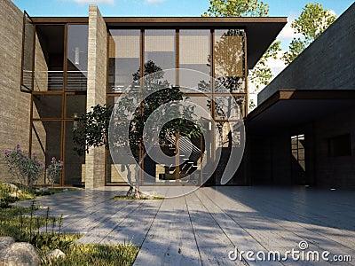 Casa exclusiva do beira-mar