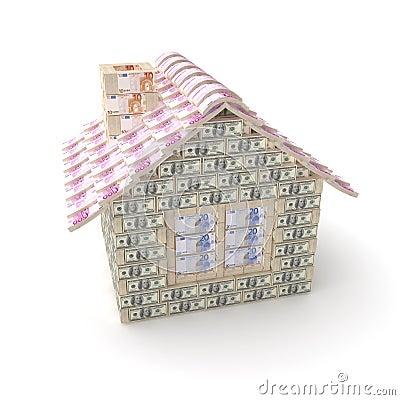 A casa feita de 100 dólares